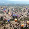 "Photo - A majestic balloon ride in central Turkey can take you over the eroded ""badlands"" of Cappadocia.Photo by Rick Steves"