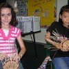 Students in Mrs. Glenda Bolding\'s 3rd grade class at Northern Hills Elementary learn how to weave a single-wall basket. They learned their new skill from Mrs. Grace Smith, a traveling cultural arts teacher for the Edmond Public School district. Community Photo By: Katrina Wyckoff Submitted By: Katrina, Edmond