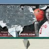 This weathered Courtney Paris billboard is located near 9th and Classen in Oklahoma City, Okla. March.11 , 2008. BY STEVE GOOCH, THE OKLAHOMAN
