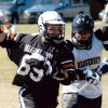 Attackman Tim Matheson moves past a defender before scoring a goal Community Photo By: OSU Alumni Game Submitted By: Canaan, Oklahoma City