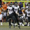 Photo - Baltimore Ravens kicker Justin Tucker (9) reacts after hitting the winning field goal against the Denver Broncos in overtime of an AFC divisional playoff NFL football game, Saturday, Jan. 12, 2013, in Denver. The Ravens won 38-35. (AP Photo/Joe Mahoney)