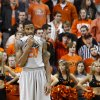 Oklahoma State\'s Michael Cobbins (20) reacts during an NCAA college basketball game between the Oklahoma State University Cowboys (OSU) and the Kansas State University Wildcats (KSU) at Gallagher-Iba Arena in Stillwater, Okla., Saturday, Jan. 21, 2012. Photo by Bryan Terry, The Oklahoman