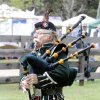 Photo -  Al Bruning, with the Highlanders Pipes and Drums, plays the bagpipes during last year's Iron Thistle Scottish Heritage Festival in Yukon. Photo by Paul Hellstern, The Oklahoman Archives   PAUL HELLSTERN -