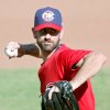 Photo - Mark Prior pitches for the RedHawks on Sunday. Photo by John Clanton, The Oklahoman
