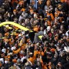 Oklahoma State fans celebrate following the Bedlam college football game between the Oklahoma State University Cowboys (OSU) and the University of Oklahoma Sooners (OU) at Boone Pickens Stadium in Stillwater, Okla., Saturday, Dec. 3, 2011. Photo by Bryan Terry, The Oklahoman