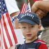 Four year old Darel James enjoys the LibertyFest Parade in downtown Edmond, OK, Saturday, July 4, 2009. By Paul Hellstern, The Oklahoman