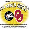 Photo - WHO'S NO 1: OU FOOTBALL OR NBA - NEW WORLD ORDER? NBA OKC - OU GRAPHIC: Oklahoma football has long dominated the sports scene in our state, but the new NBA team in Oklahoma City could threaten the Sooners' secure spot at No. 1