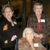 CELEBRATING 65....Susan Moorman, Marty McCharen and Gayle Sanger Berry. (Photo by Helen Ford Wallace).