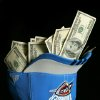 MONEY / ONE HUNDRED DOLLAR BILLS: Photo illustration on the Oklahoma City Thunder\'s salary cap in Oklahoma City, Oklahoma February 5 , 2009. BY STEVE GOOCH, THE OKLAHOMAN. ORG XMIT: KOD