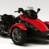 Photo - FILE - In this undated file photo provided by Bombardier Recreational Products shows the 2008 Can-Am Spyder three-wheeled motorcycle. U.S. safety regulators are investigating two reports of fires in Can-Am Spyders The probe announced Friday, Aug. 8, 2014 covers about 52,000 motorcycles from the 2008 through 2014 model year. (AP Photo/BRP)