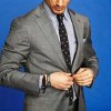 In this undated image released by Park & Bond, a model is shown wearing a suit. Fashion insiders say men are taking a keen interest in how they dress _ and that means developing their own shopping habits. You now see men dressing for the life they want to lead and image they want to project, agrees Eric Jennings, vice president and fashion director of menswear for Saks Fifth Avenue. Shopping and, even worse, trying things on to ensure a proper fit are necessary evils to get there. (AP Photo/www.parkandbond.com)
