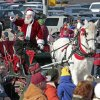 Santa gives his reindeer a rest as he is pulled by a horse during the Norman Holiday Christmas Parade on Saturday, Dec. 10, 2011, in Norman, Okla. Photo by Steve Sisney, The Oklahoman