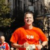 Tom Pace participates in a local running event. Photo provided