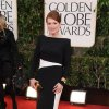 Actress Julianne Moore arrives at the 70th Annual Golden Globe Awards at the Beverly Hilton Hotel on Sunday Jan. 13, 2013, in Beverly Hills, Calif. (Photo by Jordan Strauss/Invision/AP)