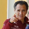 Photo - Italy coach Cesare Prandelli points his finger during a team training session at Coverciano training grounds, in Florence, Monday, May 26, 2014. In Brazil, Italy is in Group D with England, Uruguay and Costa Rica. (AP Photo/Fabrizio Giovannozzi)