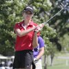 GIRLS HIGH SCHOOL GOLF / STATE TOURNAMENT: Hannah Ward, Poteau, playing in the Class 4A girls golf State championships at Lake Hefner golf course, Thursday, May 3, 2012. Photo By David McDaniel/The Oklahoman