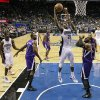Orlando Magic\'s Moe Harkless (21) shoots between Sacramento Kings\' Patrick Patterson (9) and Marcus Thornton, front right, during the first half of an NBA basketball game, Wednesday, Feb. 27, 2013, in Orlando, Fla. (AP Photo/John Raoux)