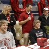 Andrew Dixon, left, and Joel Dixon signed with OU\'s wrestling team. Athletes from Edmond North High School signed national letters of intent with colleges and universities during a ceremony in the school\'s gymnasium Wednesday morning, Nov. 13, 2013. Various sports include golf, softball, wrestling, lacrosse and others. Photo by Jim Beckel, The Oklahoman