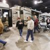 Recreational vehicle enthusiasts enjoy the Official RV Supershow at State Fair Park in Oklahoma City, OK, Saturday, March 15, 2008. BY PAUL HELLSTERN, THE OKLAHOMAN