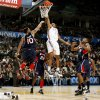Oklahoma City\'s Russell Westbrook (0) shoots a layup during the first half of the NBA game between Oklahoma City Thunder and the Atlanta Hawks, Sunday, Nov. 9, 2008, at the Ford Center, Oklahoma City. PHOTO BY SARAH PHIPPS, THE OKLAHOMAN
