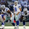 Photo -   Dallas Cowboys quarterback Tony Romo (9) calls to the line during the second half of their NFL football game against the New York Giants, Sunday, Oct. 28, 2012, in Arlington, Texas. The Giants won 29-24. (AP Photo/The Waco Tribune-Herald, Jose Yau)
