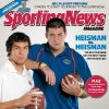 Sam Bradford, left, and Tim Tebow on the cover of this week\'s issue of Sporting News. - PHOTO PROVIDED