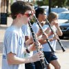 Clarinet players march Thursday with the Edmond North band during the homecoming parade. Photo by Nate Billings, The Oklahoman