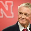 Nebraska athletic director Tom Osborne jokes about his health as he announces his retiring as of Jan. 1, during a news conference held in Lincoln, Neb., Wednesday, Sept. 26, 2012. (AP Photo/The Omaha World-Herald/Rebecca S. Gratz) MAGS GS OUT; ALL NEBRASKA LOCAL BROADCAST TV OUT ORG XMIT: NEOMA101