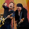 Bruce Springsteen and Steven Van Zandt perform at the 2012 New Orleans Jazz and Heritage Festival on Sunday, April 29, 2012. (AP Photo/The Times-Picayune, David Grunfeld) MAGS OUT; NO SALES; USA TODAY OUT