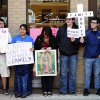 Several southwest Michigan pastors along with immigrant families and members of the general public take part in a pray-in for immigration reform event outside of Representative Fred Upton\'s office in downtown Kalamazoo on Friday, March 29, 2013. (AP Photo/Kalamazoo Gazette-MLive Media Group, Matt Gade ) ALL LOCAL TV OUT; LOCAL TV INTERNET OUT