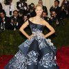 """Karolina Kurkova attends The Metropolitan Museum of Art\'s Costume Institute benefit gala celebrating """"Charles James: Beyond Fashion"""" on Monday, May 5, 2014, in New York. (Photo by Charles Sykes/Invision/AP)"""