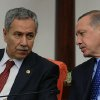 In this Monday, Oct. 1, 2012 photo, Prime Minister Recep Tayyip Erdogan, right, and his deputy Bulent Arinc are seen at Turkey\'s parliament in Ankara, Turkey. Turkey fired on Syrian targets for a second day Thursday, Oct. 4, 2012, but said it has no intention of declaring war, despite tensions after deadly shelling from Syria killed five civilians in a Turkish border town. Turkey\'s Parliament, meanwhile, began an emergency session to discuss a bill authorizing the military to launch cross border operations in Syria. If approved, the bill could more easily open the way to unilateral action by Turkey\'s armed forces inside Syria, without the involvement of its Western and Arab allies. (AP Photo)