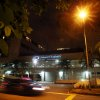 Vehicles drive past the Mount Elizabeth Hospital in Singapore, late Friday Dec. 28, 2012. After 10 days at a New Delhi hospital, the victim of a gang-rape in New Delhi was flown to Singapore on Thursday for treatment at the Mount Elizabeth hospital. The young woman\'s condition had