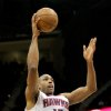 Photo - Atlanta Hawks center Al Horford (15) shoots in the first half of an NBA basketball game against the Chicago Bulls, Saturday, Dec. 22, 2012, in Atlanta. (AP Photo/Todd Kirkland)