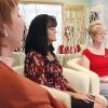Class participants Paula Rosson (left), Judy Bailey, and Jimi Goodman meditate during a class at Wellstates, a new wellness-centered business in Edmond, OK, Friday, April 24, 2009. BY PAUL HELLSTERN, THE OKLAHOMAN