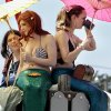 Mermaids get a breather during the Medieval Fair on Saturday, March 31, 2012, in Norman, Okla. Photo by Steve Sisney, The Oklahoman