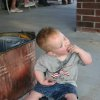 4th of July started early for lots of folks. Thomas enjoyed eating ice to help cool off Saturday at the Miller family 4th July Party in Stroud, OK. Community Photo By: Mitzi Aylor Submitted By: Mitzi, Yukon