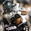 Yukon\'s Nick Bryant tackles Norman North\'s Payton Prince during a high school football game between Yukon and Norman North in Yukon, Okla., Friday, Oct. 4, 2013. Photo by Sarah Phipps, The Oklahoman