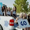 JV Cheer Class of 2009 at Homecoming Parade Community Photo By: Kathi Farley Submitted By: Kathi, Edmond