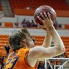 Photo - Oklahoma State's Alex Budke shoots during the college basketball game between Oklahoma State University and Ottawa (Kan.) at Gallagher-Iba Arena in Stillwater, Okla., Thursday, Nov. 1, 2012. Photo by Sarah Phipps, The Oklahoman