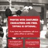 Photo - This undated image provided Tuesday Aug. 12, 2014 by the Times Square Alliance shows a detail from a leaflet being handed out by police in New York's Times Square informing tourists that photos with costumed characters are free and tipping is optional.  The campaign is apparently taking a bite out of the bottom line for the normally grabby cast of Elmos, Mickey Mouses, SpongeBobs and Statues of Liberty. The blitz crackdown kicked in last weekend, with officers handing out warning leaflets in five languages. (AP Photo/Times Square Alliance)