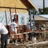 This home at 113 SW 8 in Moore is being rebuilt by a volunteer nonprofit organization from Virginia called Operation Blessing. The home was destroyed by the May 20 tornado that hit Moore. PHOTO BY JIM BECKEL, THE OKLAHOMAN Jim Beckel - THE OKLAHOMAN