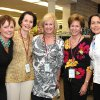 Karen Luke, Carol Hall, Linda Rodgers, Mary Ann Haskins, Collette Buxton.