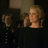 This photo released by Netflix shows Robin Wright as Claire Underwood in season 2 of Netflix\'s