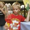6-year-old Connor Amy does an experiment during the Power Lab Vacation Bible School at Peace Lutheran Church in Edmond, OK, Thursday, June 12, 2008. BY PAUL HELLSTERN, THE OKLAHOMAN