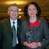 """Don & G. Kay Powers, at the Leader in Law Reception where G. Kay was recognized as a Leader in Law for her community service. She is the one who wrote to you about Friday the 13th being """"Sisters Day"""". Occasionally, I write a letter to the editor that gets published. We are bothe attorneys for our firm Powers At Law, LLC, and I also Community Photo By: Sue Goodman, G. Kay\'s Sister Submitted By: Don , Edmond"""