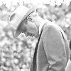 Bud Wilkinson, OU football coach, hangs his head on the sideline during the Sooners 7-0 loss to Notre Dame on Nov. 16, 1957. The loss ended OU\'s 47-game win streak. FROM THE OKLAHOMAN ARCHIVES