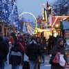 Shoppers stroll through downtown Duisburg, Germany, Thursday, Dec. 20, 2012. Analysts and shopkeepers say sales have been slow so far this season. But many are hoping for a late push the final weekend before Christmas.
