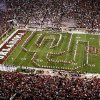 OU MARCHING BAND, OVERVIEW, COLLEGE FOOTBALL: University of Oklahoma band takes the field before the Sooners play Texas Tech University at the Gaylord Family - Oklahoma Memorial Stadium in Norman, Oklahoma on Saturday, November 11, 2006 by Steve Sisney/The Oklahoman