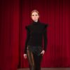 Photo - A model walks the runway during the Christian Siriano Fall 2013 fashion show during Fashion Week, Saturday, Feb. 9 2013, in New York. (AP Photo/Christian Siriano)